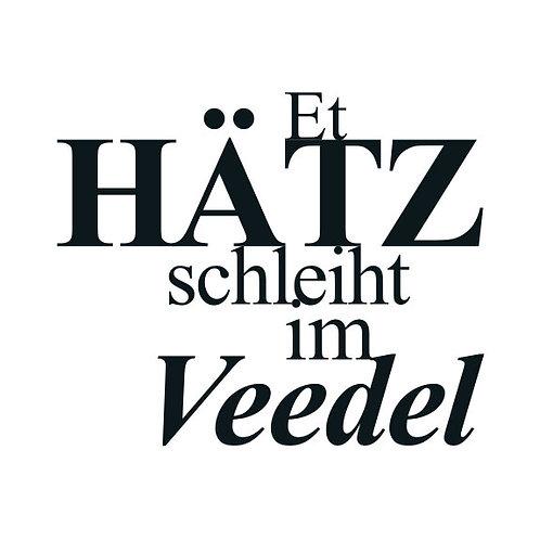 """typoBILD """"Et Hotz schleiht im Veedel!"""""""