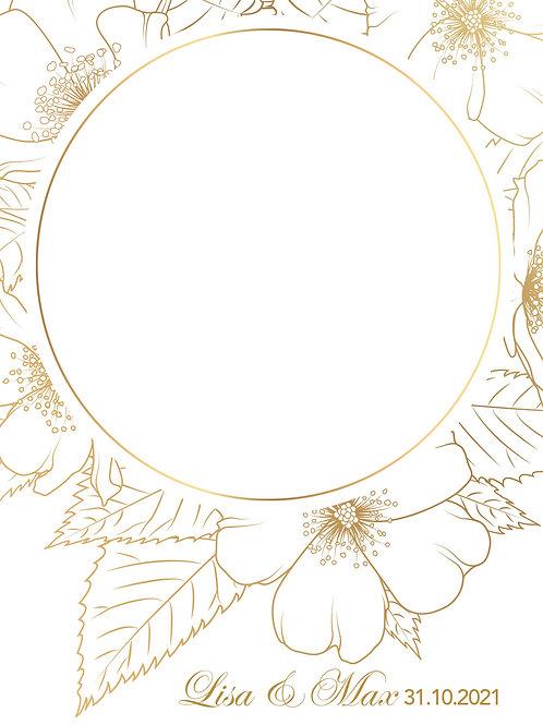 Hochzeit 16 / Goldene Blüten