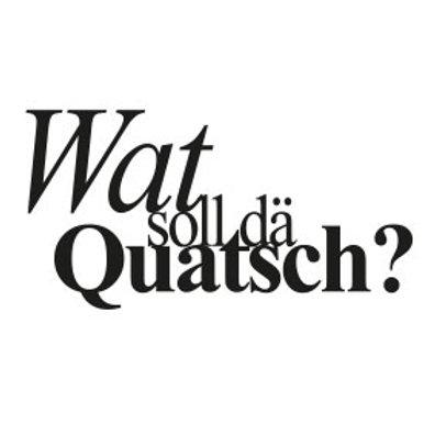 """typoBILD """"Wat soll dä quatsch!"""""""