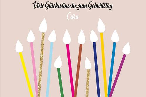 Geburtstag 9 / Kerzen