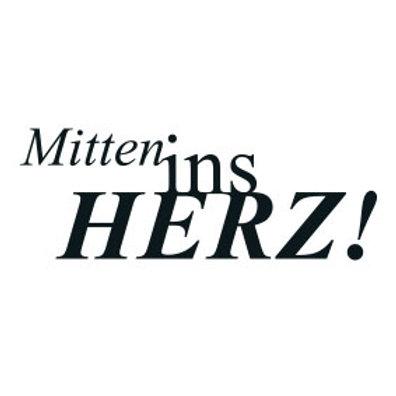 """typoBILD """"Mitten ins Herz"""""""