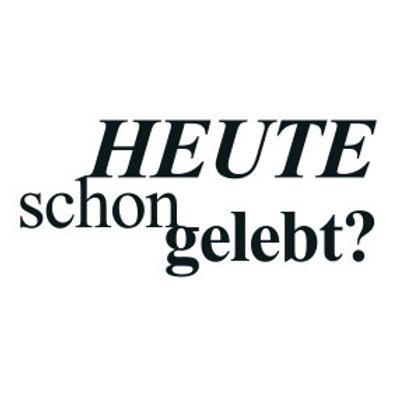 """wunschBOX / ZITAT """"Heute schon gelebt?"""""""
