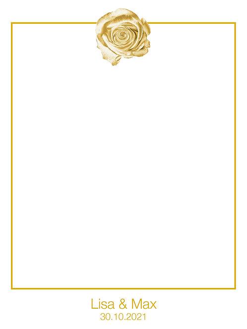 Hochzeit 17 / Golden Rose