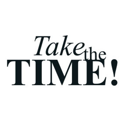 """typoBILD """"Take the Time!"""""""