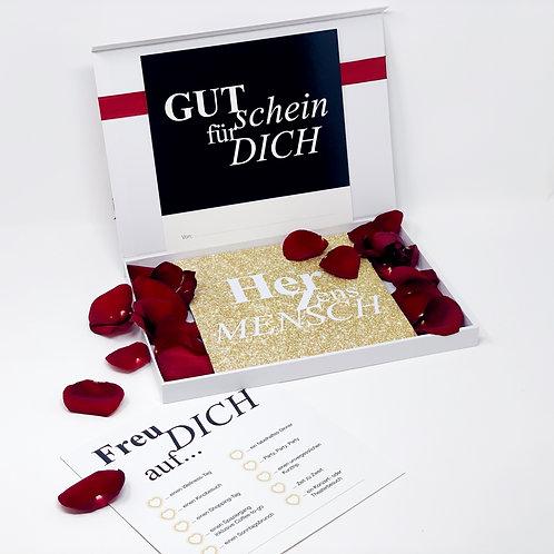 "loveBOX 1 / ""Herzensmensch"" Glamour"