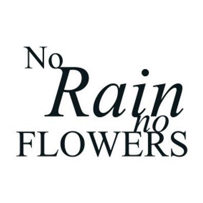 "typoMAGNET Plus / ZITAT ""No Rain. No Flowers!"""