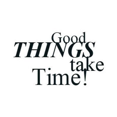 """typoMAGNET Plus / ZITAT """"Good things take time!"""""""