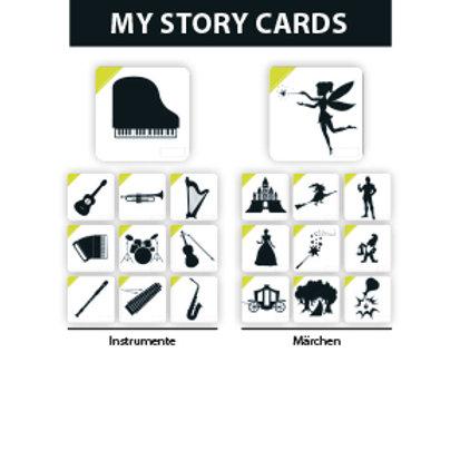 MY STORY ERWEITERUNGSSET WELTALL/OBST - Premium Lernkarten
