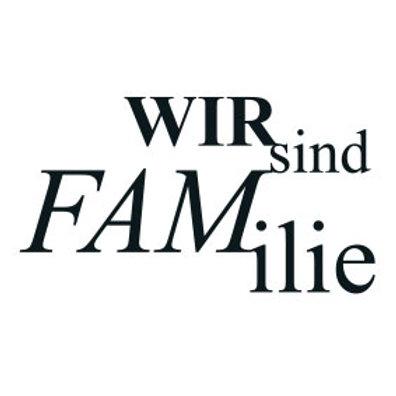 """typoMAGNET Plus / Liebe """"Wir sind Familie!"""""""