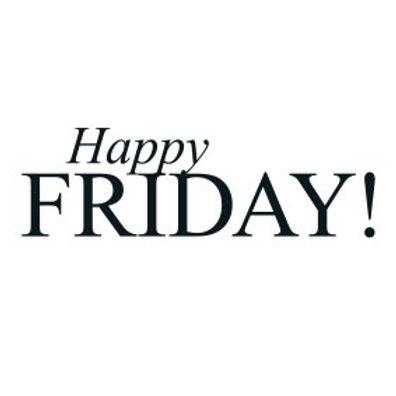 """typoBILD """"Happy Friday!"""""""