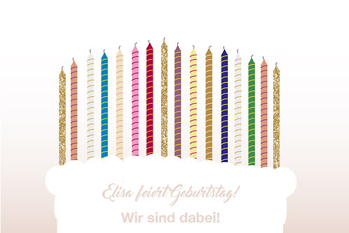 Geburtstag 1 / Torte