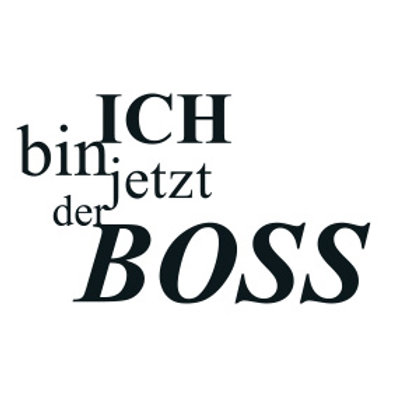 """typoBILD """"Ich bin jetzt jetzt der Boss!"""""""