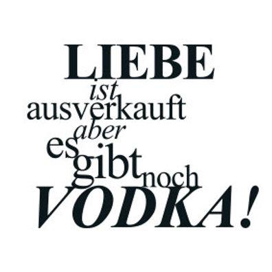 """schöneBOX Classic / SPASS """"Liebe ist ausverkauft. Aber es gibt noch Vodka!"""""""