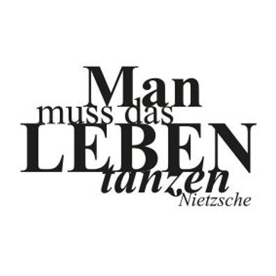 """wunschBOX / ZITAT """"Man muss das Leben tanzen!"""""""