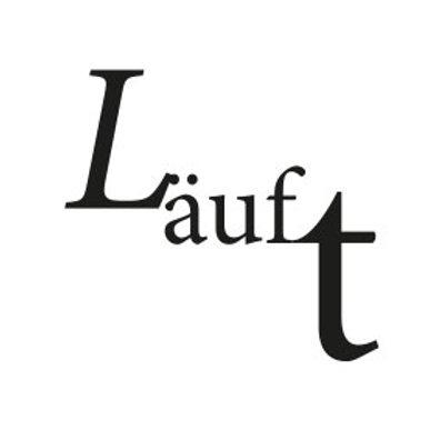 """typoBILD """"Läuft!"""""""