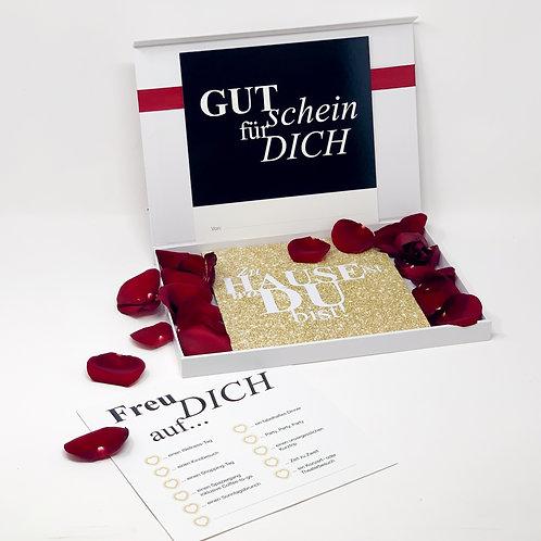 """loveBOX 3 / """"Zu Hause ist, wo du bist!"""" Glamour"""