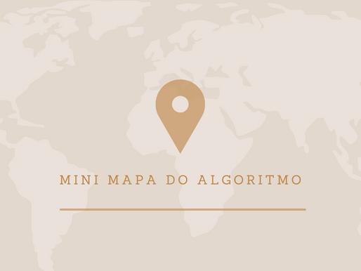 Mini mapa do algorítimo do Instagram