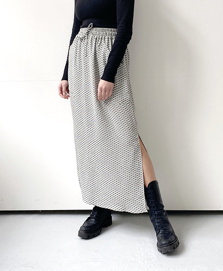 LONG SKIRT WITH ELASTIC BAND