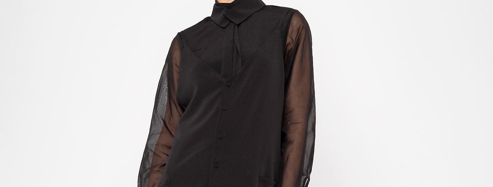 AKIRA BLOUSE SEETHROUGH