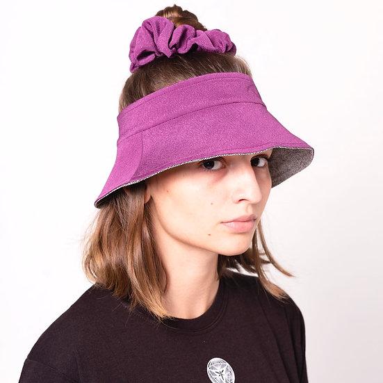 REVERSIBLE VISORED BUCKET HAT