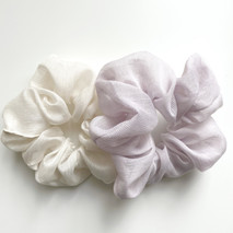 DOUBLE PACK SHEER SCRUNCHIE