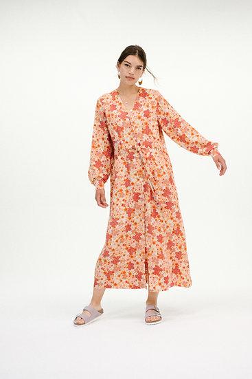 SAKURA ORANGE DRESS