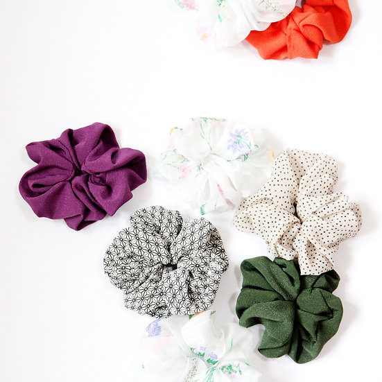 SCRUNCHIES DOUBLE PACK
