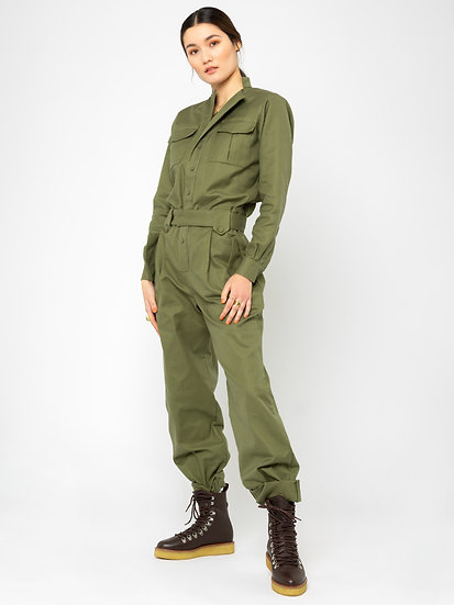 JUMPSUIT WITH MULTIPLE POCKETS