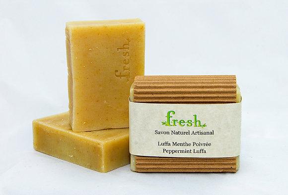 Luffa Menthe / Peppermint Luffa 4.5oz - 5oz