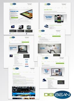 DigiBean's New Website 2014