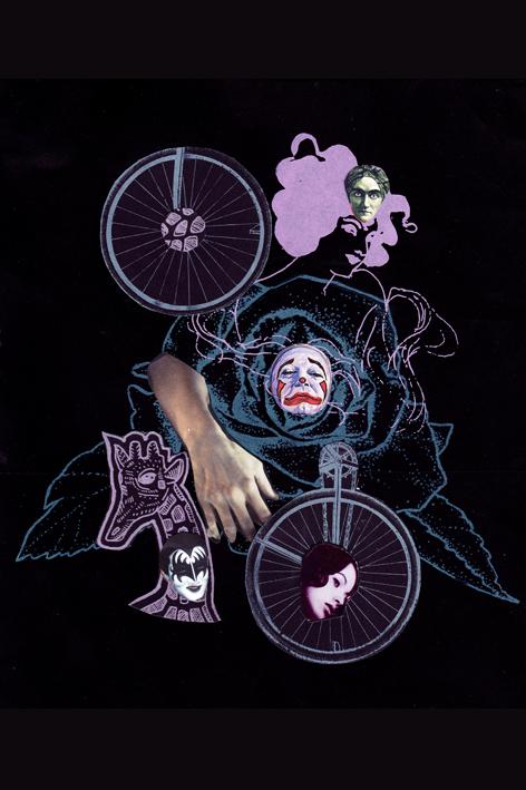 Silkscreen Lady Bike