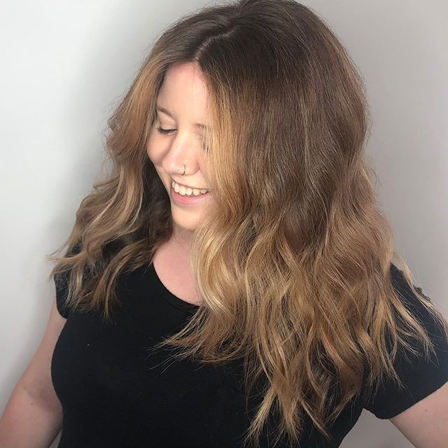 Blended balayage ombré. The best gift I