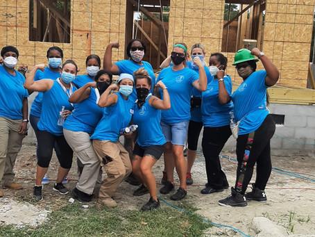 Habitat in the News: Women Build Week