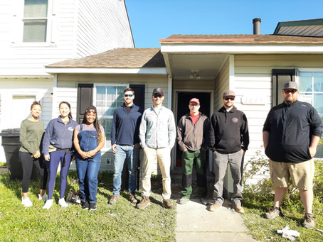 Laying the Foundation with Habitat Young Professionals Group