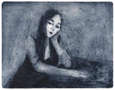 Self Portrait in the Blueness
