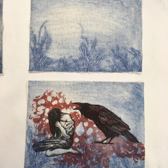 Collagraph and lithography