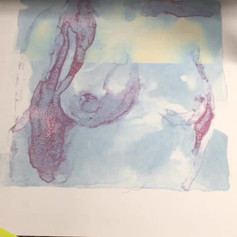 Laser engraving screenprint