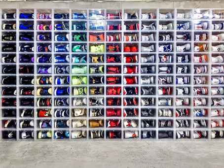 Organizing the Impressive Shoe Collection of Packers Player Davante Adams