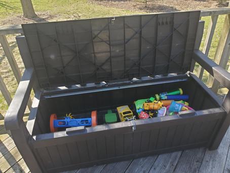 Unique storage solutions for kids