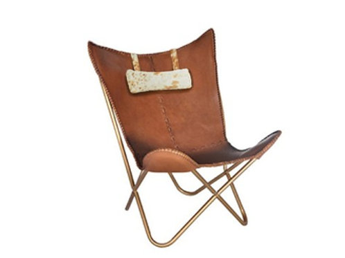 Cowhide Headrest [QTY1, May be used for other furniture]