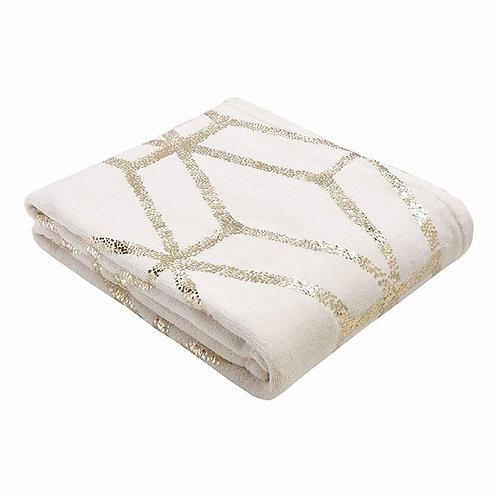 "Gold Throw Blanket [QTY 60, 50"" x 60""]"