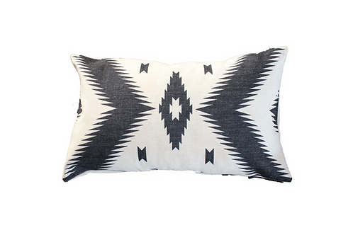 "Linen Tribal Pillow [QTY 4, 10"" x 20""]"