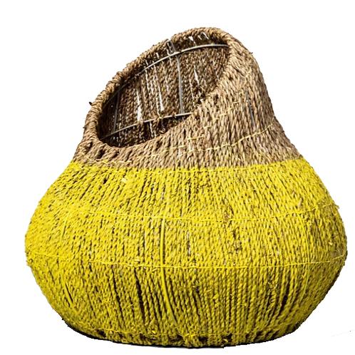 "Fiesta Seagrass Basket [QTY3, 15""H x 17""W x 17""D]"