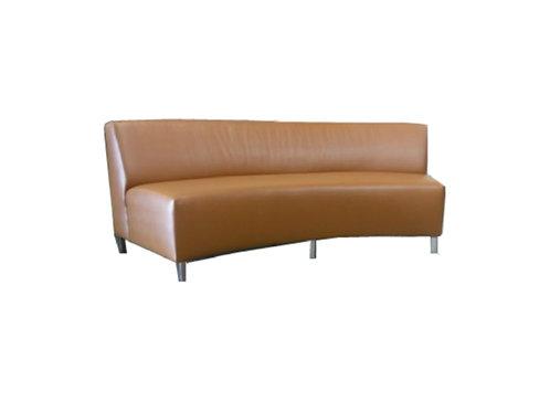 """Saddle Sofa [QTY 12, 108""""L, 1 section seats 4]"""
