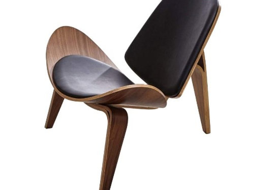 "Shell Lounge Chair [QTY4, 31""H x 37""W x 29""D]"