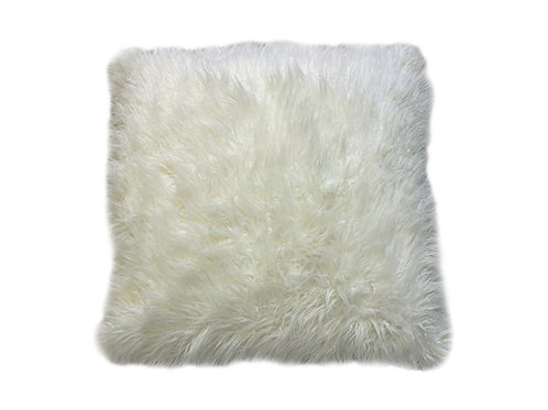 "Ivory Fur Pillow [QTY 4, 24"" x 24""]"