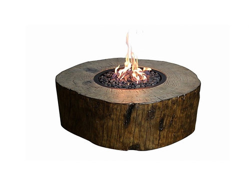 "Stump Fire Pit [QTY 2, 41""W x 37""D x 14.5""H]"