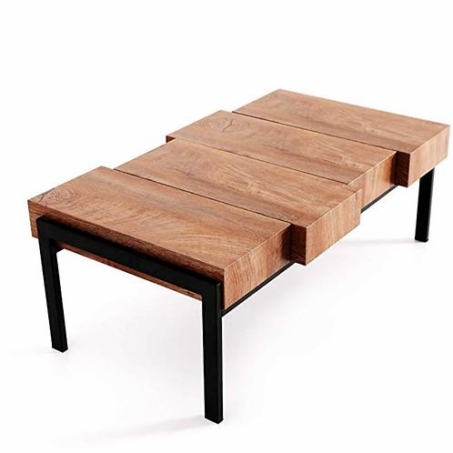 """Modern Wood Table [QTY 4, 16""""H x 42""""L x 22""""W]"""