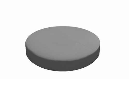 "Saddle Ottoman - Gray [QTY 2, 6""L]"