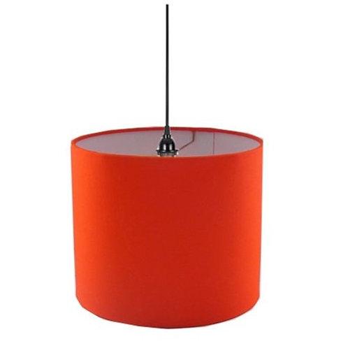 Orange Shade Chandelier [QTY 2, 1.5'Lx 1.5'W]